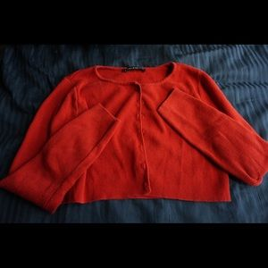 Brandy Melville red athelia top
